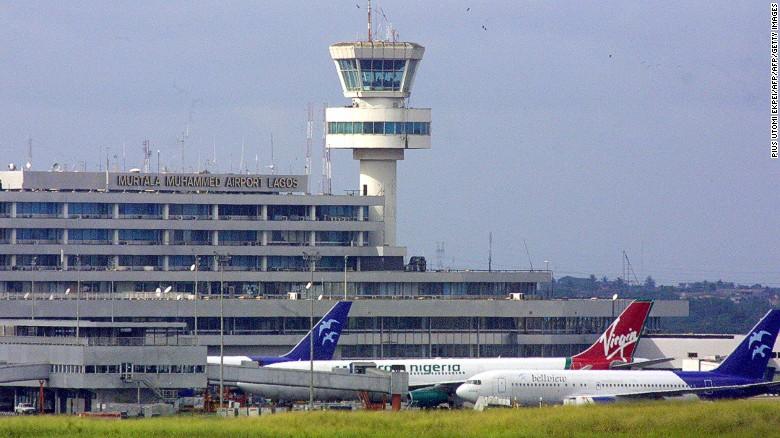 Murtala Muhammed International Airport, Lagos.