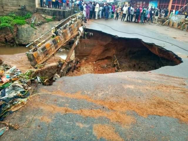 COREN investigates collapse of pedestrian bridge in Enugu