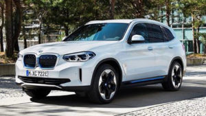 The BMW iX3 is the brand's first electric vehicle